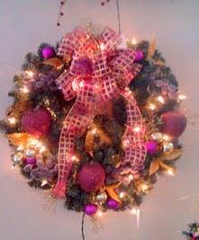 Royal Christmas Wreath