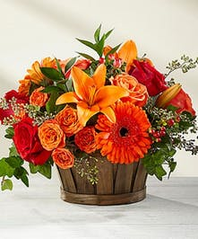 Vibrant Harvest Basket