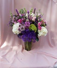 Elegant Hues Of  Violet