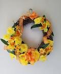 Delightful Daffodils Silk Wreath