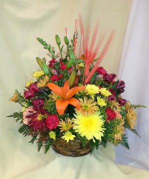 Fall Traditional Basket