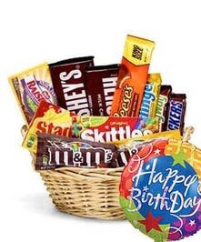 River Dell's Candy Basket