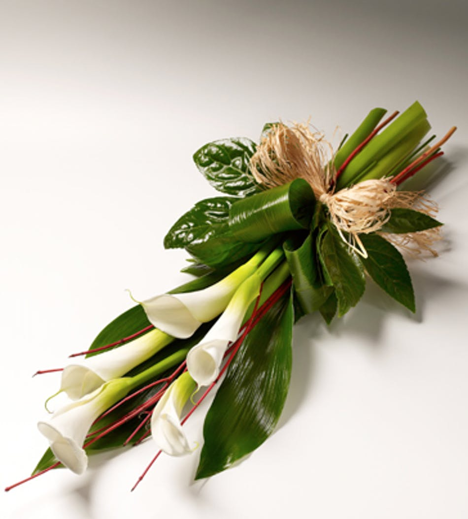 Graceful calla lilies river dell flowers oradell florist flower available for nationwide delivery izmirmasajfo