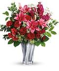 Sterling Love Vase
