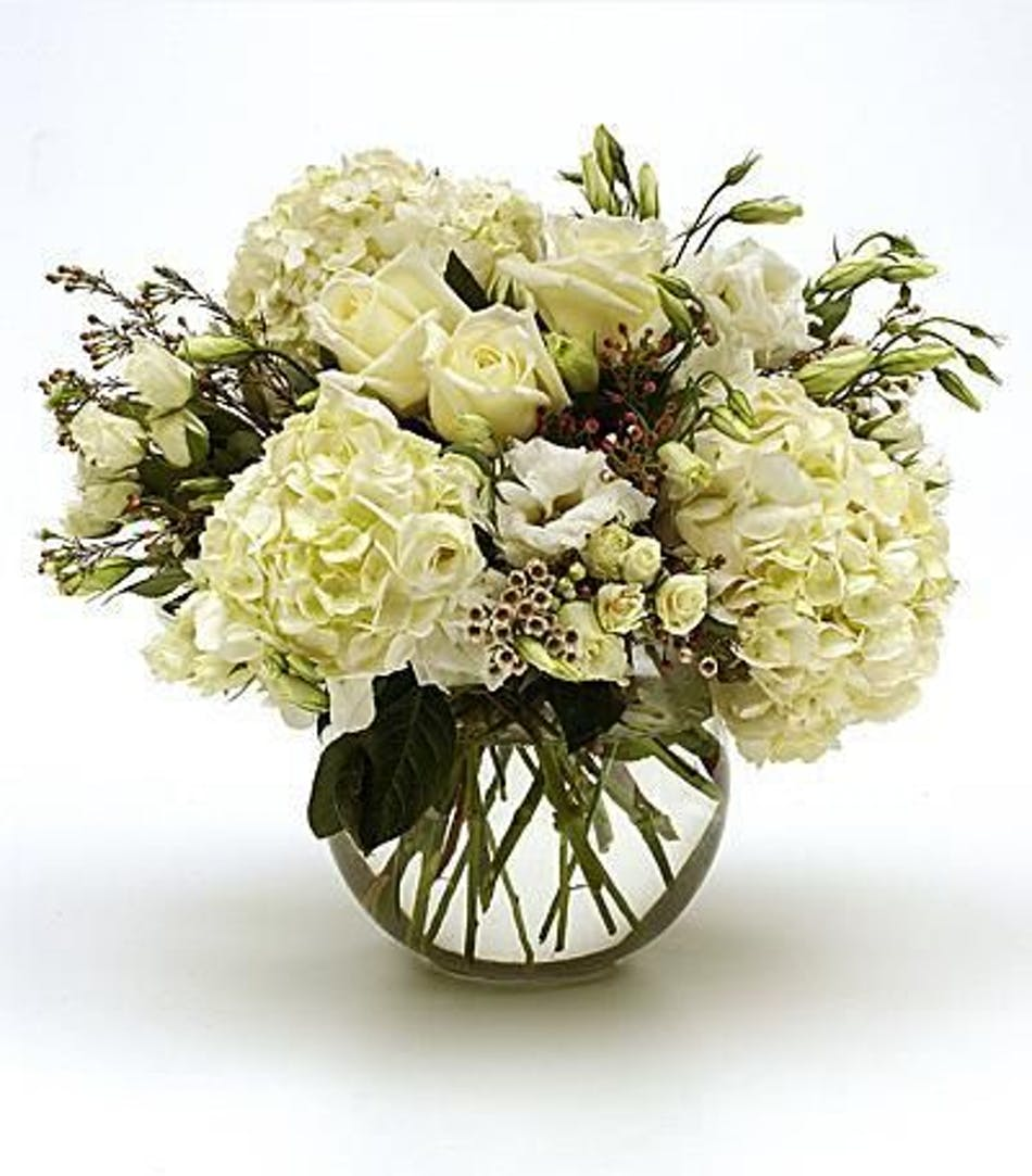 Treasured pearl all white flowers river dell flowers oradell treasured pearl all white flowers river dell flowers oradell florist flower delivery mightylinksfo
