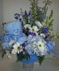 Fuzzy Wuzzy Blue