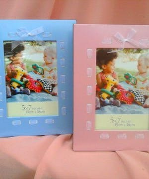Ribbon Photo Frame