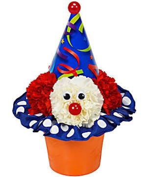 Clown Cupcake