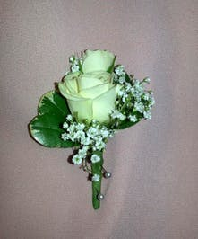 Spray Rose Boutonniere