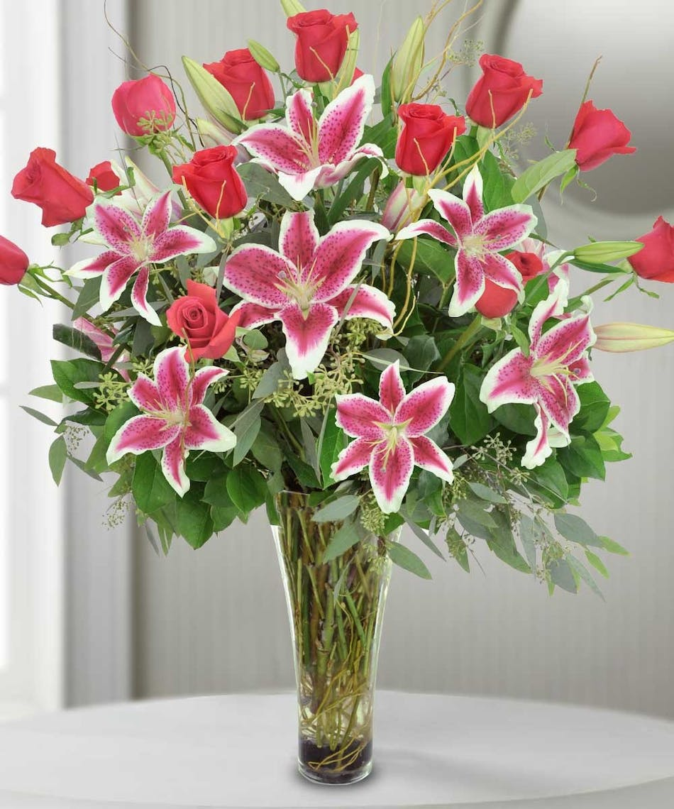Enchanted lilies river dell flowers oradell florist flower delivery izmirmasajfo