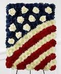 American Flag Folded
