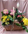 Flowering Garden Basket