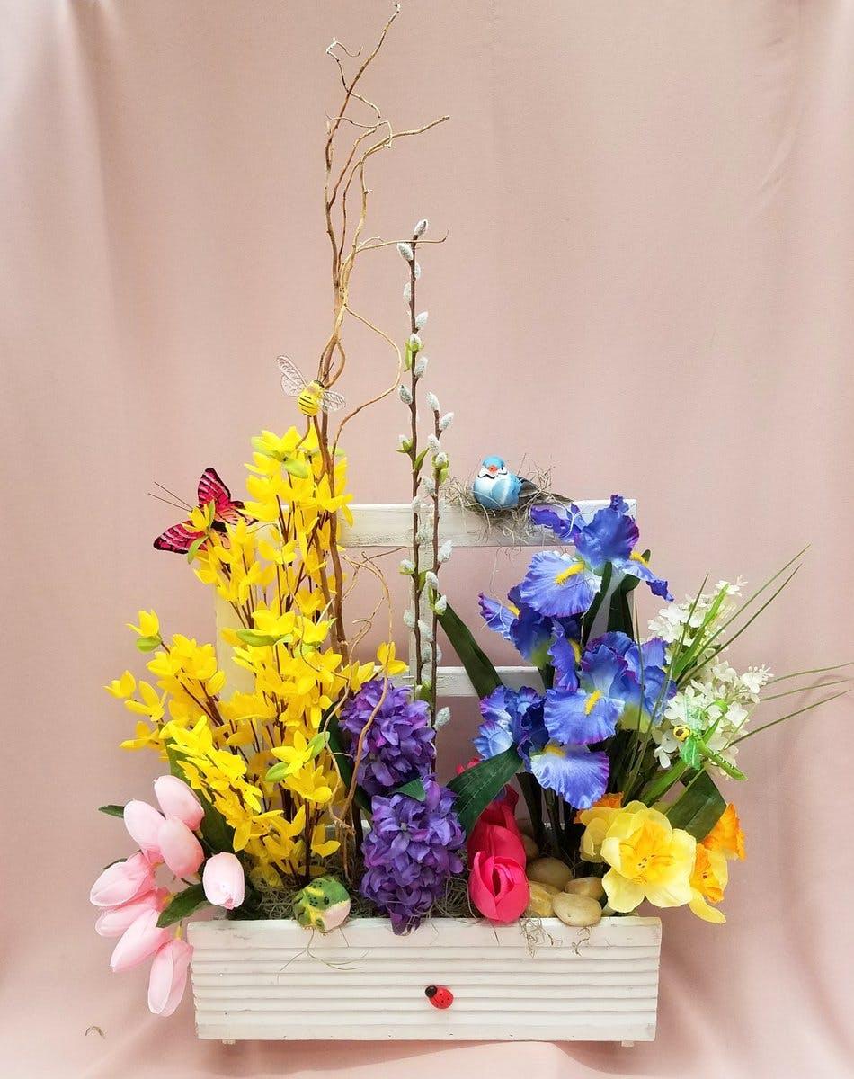 Garden Of Spring Silk River Dell Flowers Oradell Florist Flower