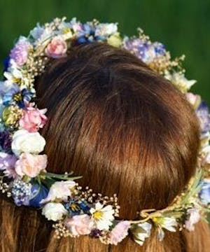 Mixed Flower Halo