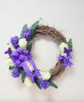 Hyacinth Romance Silk Wreath