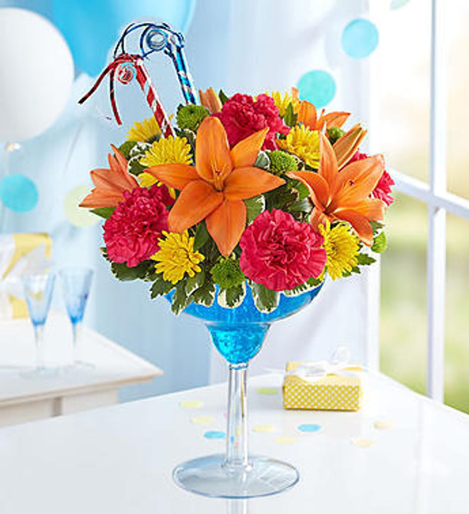 Its My Birthday River Dell Flowers Oradell Florist Flower Delivery