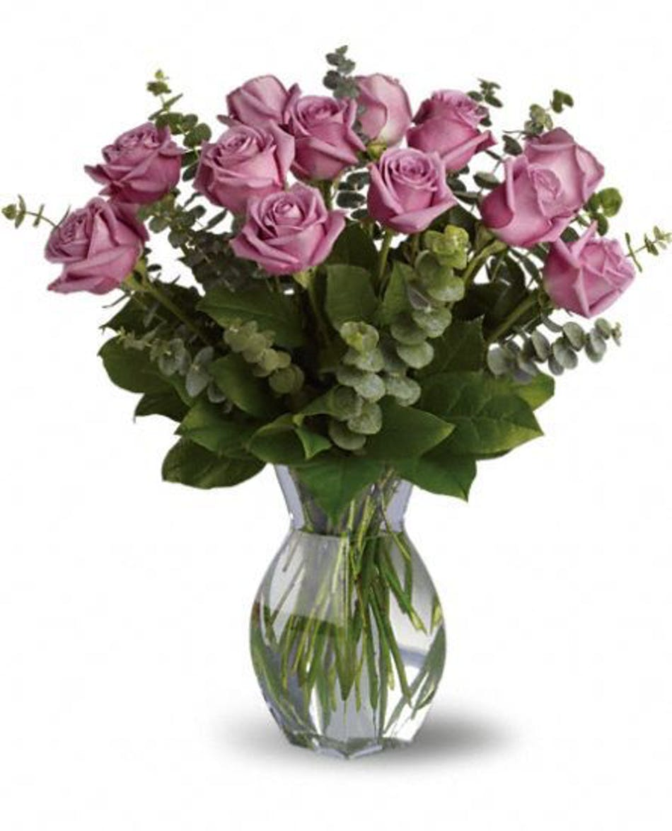 Lavender Love Beautiful Hand Picked Roses River Dell Flowers