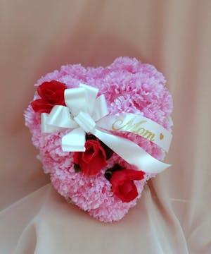 Silk Cemetery Heart