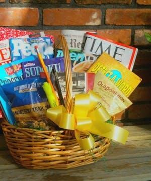 Magazines, newspaper, puzzle books etc..