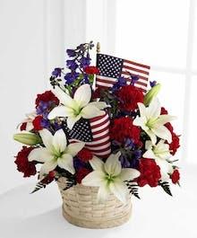 American Glory Basket
