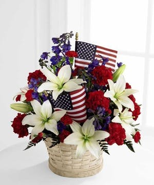 American Glory Basket