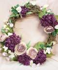 Purple & Mauve Wreath