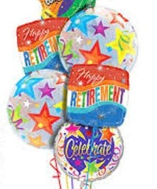 Retirement Mylar Balloons