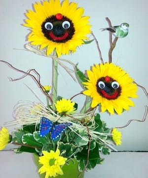 Sunflower faces