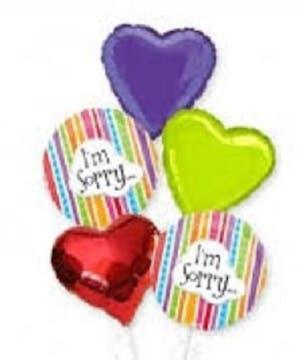 I'm Sorry Balloons