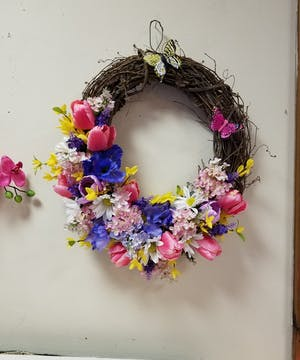 Silk Wreath