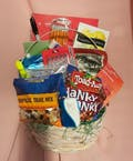 Supplies and Snack Basket