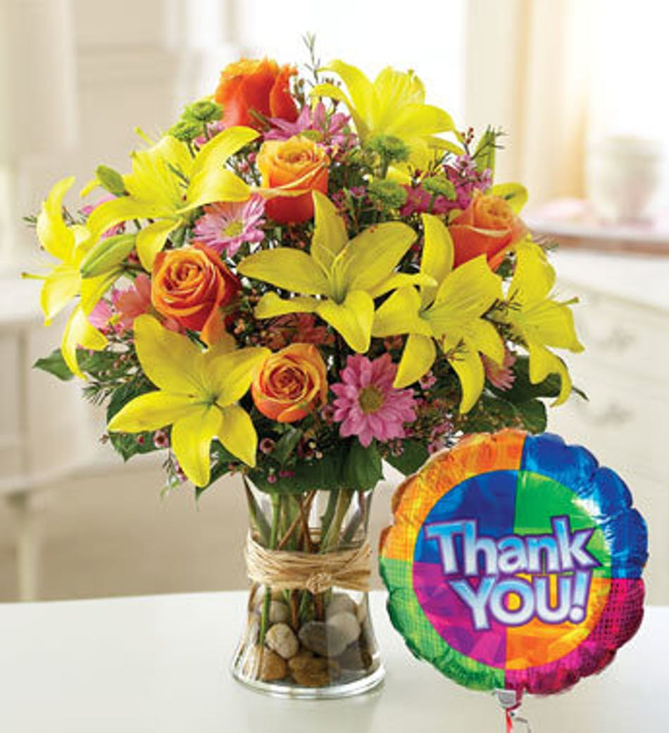 Thank You Wishes River Dell Flowers Oradell Florist Flower Delivery
