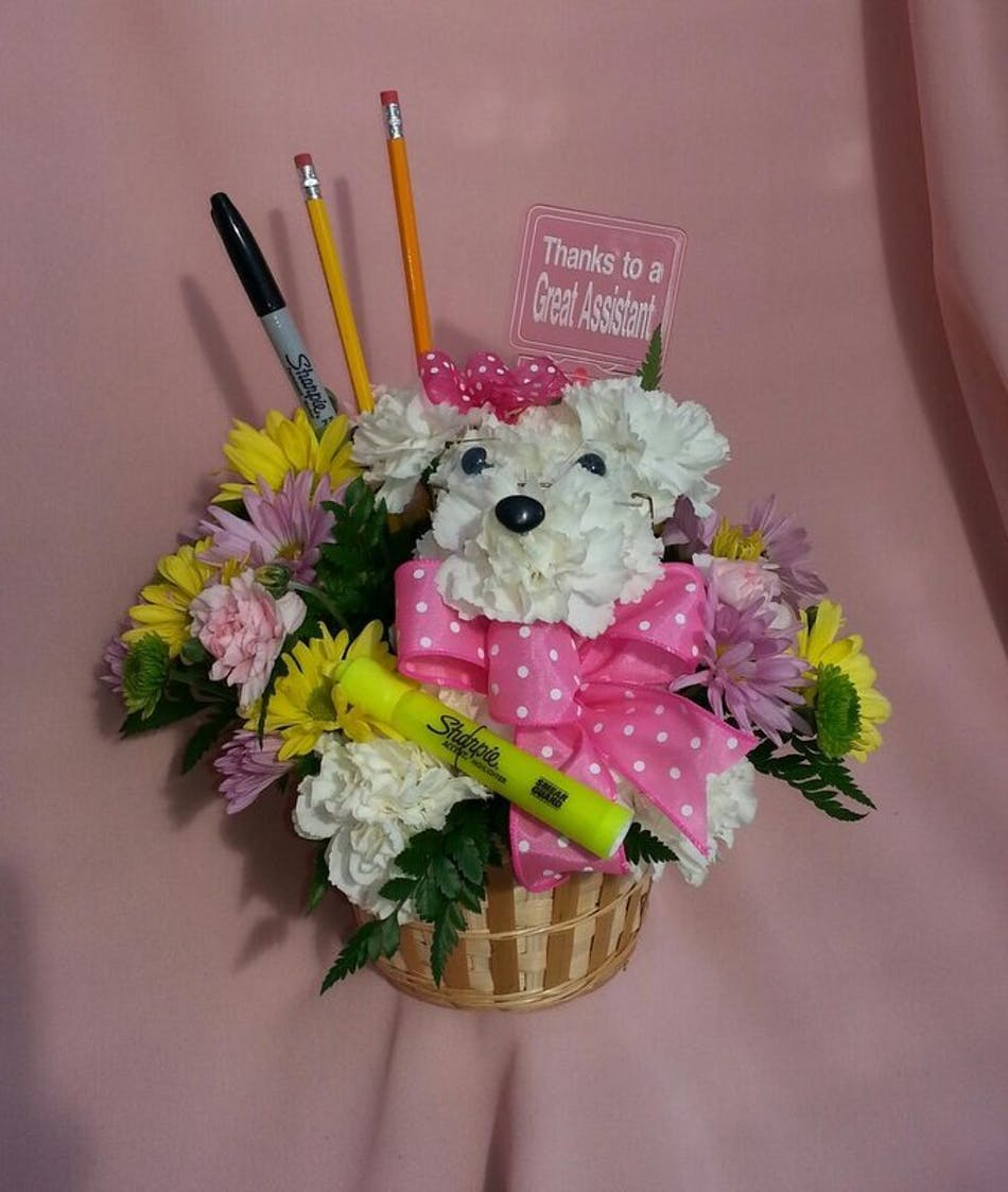 Work Like A Dog Thank You For All You Do River Dell Flowers